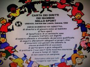 Carta dei diritti dello sport del bambino